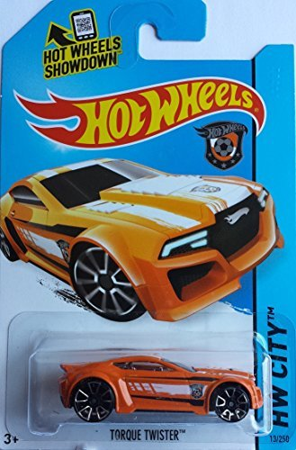 2014 Hot Wheels Hw City Netherlands World Cup Soccer Torque Twister