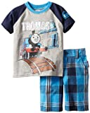 Thomas & Friends Boys 2-7 2 Piece Knit Pullover and Woven Short