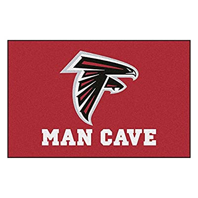 FANMATS 14265 NFL Atlanta Falcons Nylon Universal Man Cave Starter Rug