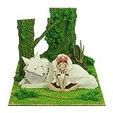 スタジオジブリmini もののけ姫 サンと山犬 MP07-45 ノンスケール ペーパークラフト