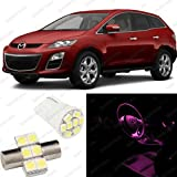 Pink LED Mazda CX-7 Interior Package Deal 2007 - 2011 (6 Pieces)