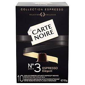 Carte Noire Espresso No 3 Elegant 10 Coffee Capsules 53 g(Pack of 8)