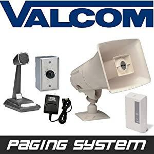 Paging Horn Speaker System Intercom : Pagers : Sports & Outdoors