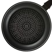 TeChef - Blooming Flower Frying Pan with Teflon Platinum Non-Stick Coating (PFOA Free) / Ceramic Coated Outside / Induction Ready (28 cm (11 in))