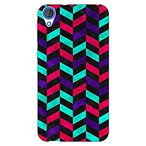 Jugaaduu Tribal Back Cover Case For HTC Desire 820