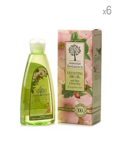 Omnia Botanica Set 6 Piezas De Aceite Seco Corporal De Menta Y Rosas Silvestres 200 ml Ud.