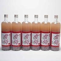 6本セット 篠崎 国菊甘酒 黒米 あまざけノンアルコール 900ml×6本(福岡県)