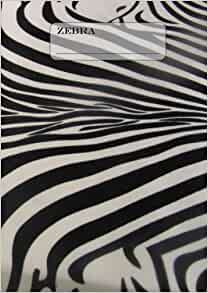 zebrafell notizbuch oder tagebuch din a4 liniert 108 seiten german edition edition. Black Bedroom Furniture Sets. Home Design Ideas