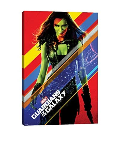 Guardians of The Galaxy: Gamora Movie Poster Gallery-Wrapped Canvas Print