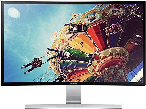 Samsung S27D590C 68,58 cm (27 Zoll) Monitor (HDMI, D-Sub, 4ms Reaktionszeit) schwarz