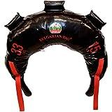 Bulgarian Bag - New Black PVC - Suples - The Original (Fitness, Crossfit, Wrestling, Judo, Grappling, Functional Training, MMA, Sandbag, Training Bag, Weighted Bag, Weight Bag) (33)