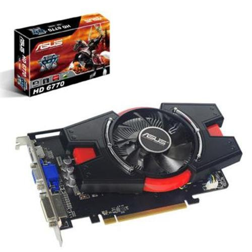 Asus EAH6770/DI/1GD5 Graphics Card ( 1GB,PCI-Express,GDDR5,128-bit,HDMI,DVI-I,PCI-E 2.,AMD HD3D Technology)