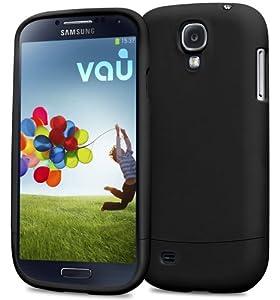 vau Snap Case Slider - matte black - zweigeteiltes Hard-Case für Samsung Galaxy S4