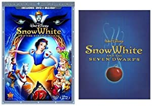 Snow White and the Seven Dwarfs (DVD + Blu-ray with Steelbook Case)