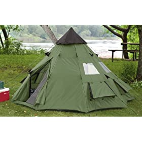 Guide Gear 10x10 inch Teepee Tent