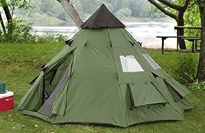 Buy Guide Gear 10x10' Teepee Tent by Guide Gear
