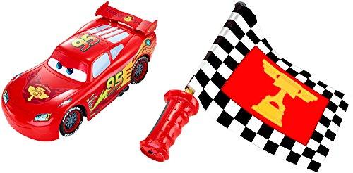 Disney Cars Flag Finish Lightning McQueen Vehicle JungleDealsBlog.com