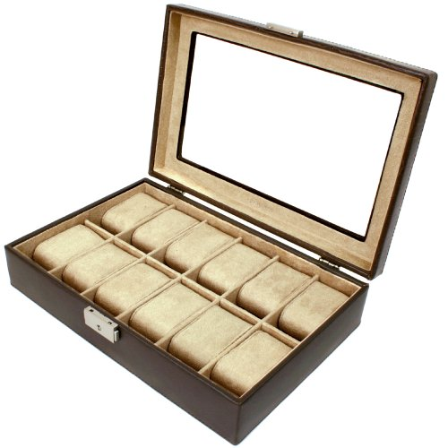 Tech Swiss TS2890BRNW Storage Case Watch Box Watch Case