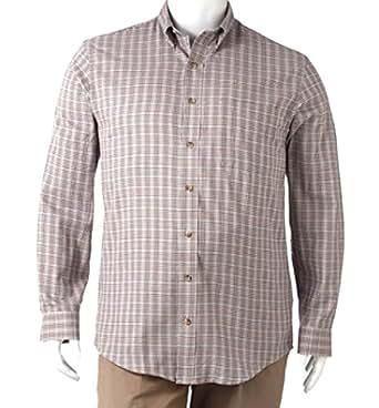 Arrow Men 39 S Classic Fit Twill Shirt Sizes Big