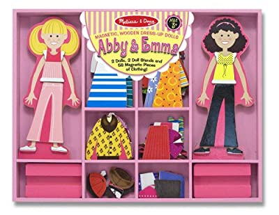 Melissa & Doug Abby & Emma Deluxe Magnetic Dress-Up Set from Melissa and Doug