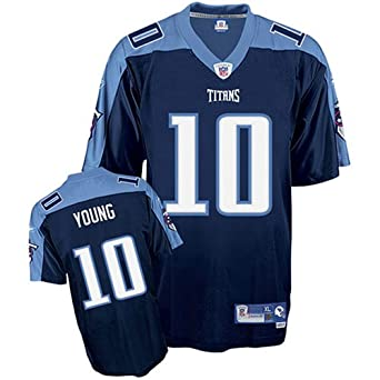 Vince Young Tennessee Titans Navy Blue Youth Kids NFL Football Jersey by Reebok