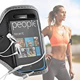 IWIO Nokia Lumia 610 Mobile Smart Phone Gym Jogging Running Sports Armband Case Cover and 3.5mm Aluminum Headphones Hands free - GREY