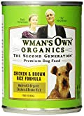 Newman's Own Organics Chicken & Brown Rice Formula for Dogs, 12.7-Ounce Cans (Pack of 12)