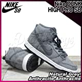 NIKE(ナイキ) ダンク ハイ プロ DUNK HIGH PRO SB Natural Grey/Anthracite-Anthracite/メンズ(men's) 靴 スニーカー(305050-011) NaturalGrey/AnthraciteAnthracite,27.5cm(US9h)
