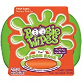Boogie Wipes Natural Saline Kids and Baby Nose Wipes for Cold and Flu, Fresh Scent, 30 Count Tub