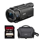 Sony FDRAX53/B 4K HD Video Recording Camcorder (Black) Bundle