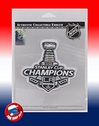 2014 NHL Stanley Cup Final Champions Los Angeles Kings Jersey Patch (2014 Stanley Cup Champions Patch compare prices)
