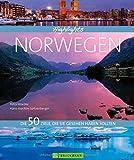 Stimmungsvolle Bilder und informative Texte zu den 50 besten Reisezielen in Norwegen