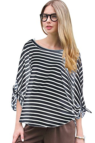 Sweet Mommy Multi Way Striped Nursing Cover [Made In Japan] Nvwh front-230929
