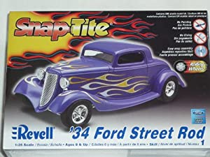 ford street hot rod 1934 85 1943 bausatz kit 1 24 1 24. Black Bedroom Furniture Sets. Home Design Ideas