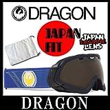 ドラゴン ゴーグル DRAGONエーピーエックスエス APXs 722-4825 GIGI Signature/Ionized+Yellow Blue Ionized メンズ レディース ユニセックス スキー スノーボード GOGGLE