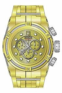 Invicta Men's 16004BWB Jason Taylor Analog Display Swiss Quartz Gold Watch