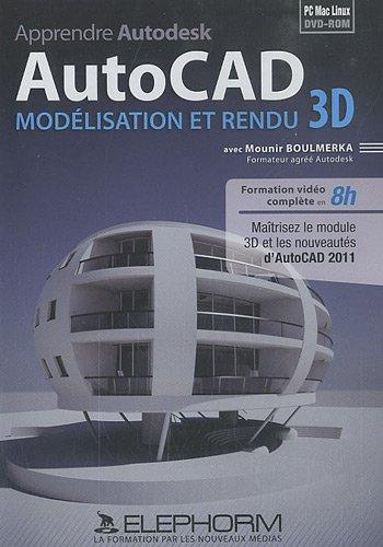 apprendre-autodesk-autocad-modelisation-et-rendu-3d-mounir-boulmerka