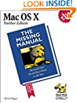 Mac OS X: The Missing Manual, Panther...