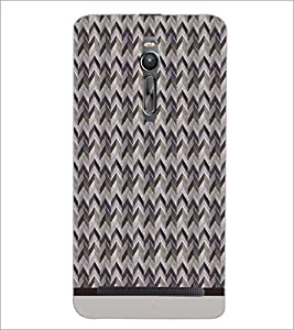 PrintDhaba Pattern D-1566 Back Case Cover for ASUS ZENFONE 2 (Multi-Coloured)