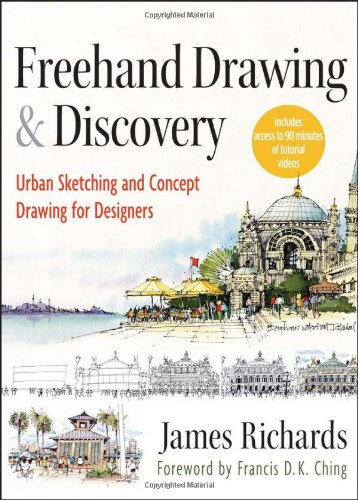 Gift Idea: Freehand Drawing and Discovery: Urban Sketching and Concept Drawing for Designers