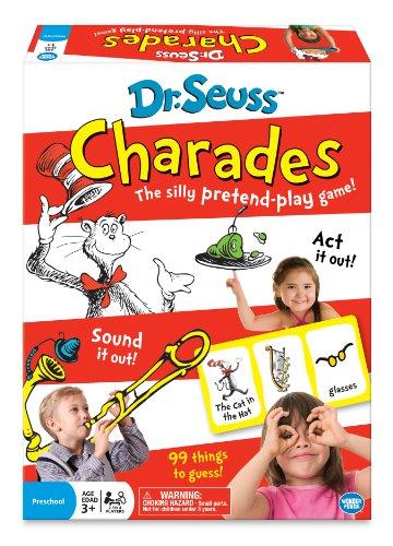 Wonder Forge Dr. Seuss Charades Game