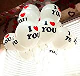 パーティーバルーン I LOVE YOU 20個入り ゴム風船 イベント 結婚式 メッセージ ランキングお取り寄せ