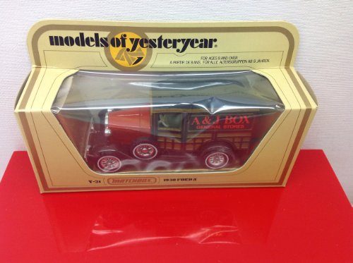 Matchbox Models of Yesteryear Y-21 1930 Ford a General Store a & J BOX - 1