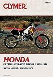 Penton Honda CR125R 92-97 & CR250R 1992-96 (Clymer Motorcycle Repair)
