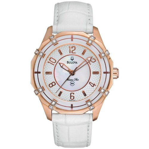 Bulova 98R150 Ladies Marine Star Watch