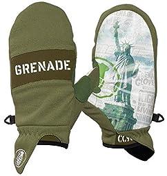 Grenade Men\'s Pro Posse DK Glove, Small, Army