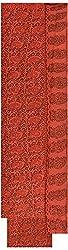 Moni Boutique Women's Chiffon & Georgette Unstitched Salwar Suit (Maroon)