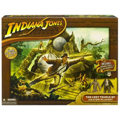 Picture of Hasbro INDIANA JONES AKATOR PLAYSET with 2 FIGURES (B001FXCDEW) (Hasbro Action Figures)