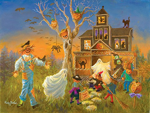 Spooky Halloween 300 Piece Jigsaw Puzzle by Sunsout Inc.
