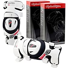 Troy Lee Designs Catalyst X Brace System Adult Knee Guard MX Motorcycle Body Armor - White / Medium